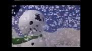 много сладък снежен човек