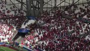 France: Fans clash with police in stadium ahead of Iceland v Hungary