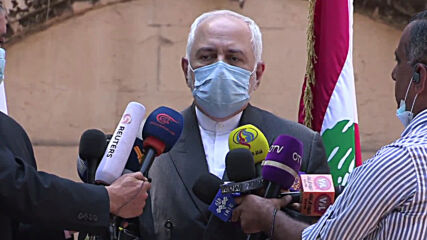 Lebanon: FM Wehbe, Iranian counterpart Zarif have joint presser following meeting
