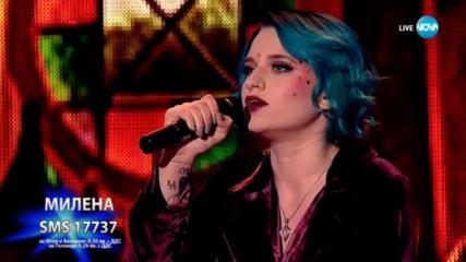 Милена с бурно и емоционално изпълнение на I See Fire - X Factor Live (19.11.2017)