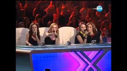 Участниците от X - Factor изпълняват обща песен | 19.10.13