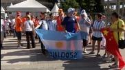Феновете вече се събират пред Маракана