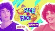 Soy Luna 3 - Лице в лице - Хорхе и Рамиро + Превод