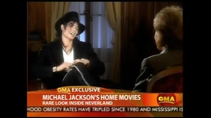 Michael Jackson with his children Home Videos