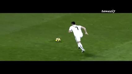 Кристиано Роналдо просто танцува на терена