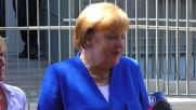 Germany: Merkel pays visit to kids at Caritas centre in Cologne