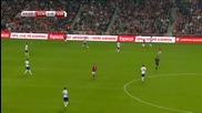 Дания 2 - 0 Сърбия ( Квалификация за Европейско първенство 2016 ) ( 13/06/2015 )