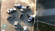 Three Cops Injured in Dramatic Virginia Car Chase
