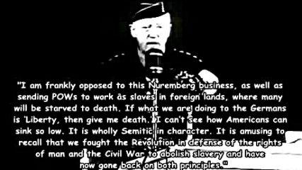 ген. Джордж Патън относно евреите и германците _ George Patton (1885-1945) On Jews And Germans.