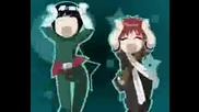 Gaara And Lee Caramelldansen Chibi