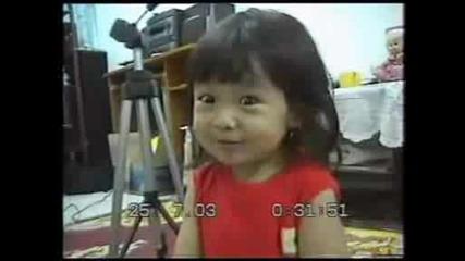Сладко Бебе китайче пее за кастинг на Music Idol