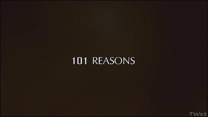101 причина да са заедно Стефан и Елена { T V D }