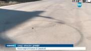 ОПАСЕН ДРИФТ: Кола падна в канал в Самоков
