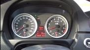 Ускорение на Bmw M3 E90 0-282 km/h !!!