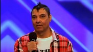 Пореден музикален инвалид! (смях) Deep Dhillon - The X Factor Uk 2011