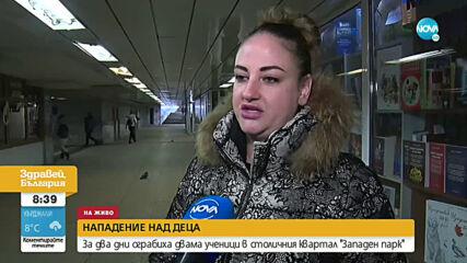 ЗА ДВА ДНИ: Ограбиха двама ученици в София