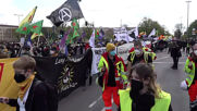 Germany: Thousands join left-wing demo against police brutality in Berlin