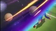 Inazuma Eleven - Celestial Smash [tenkuu Otosh] vs God Hand X