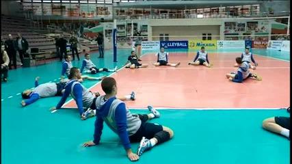 Волейболният Левски с обновени редици, но тренира в стряскаща обстановка