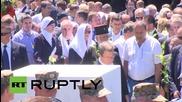 Bosnia and Herzegovina:Thousands attend 20th anniversary of Srebrenica mass killings