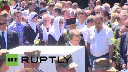 Bosnia and Herzegovina:Thousands attend 20th anniversary of Srebrenica mass killings