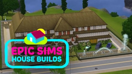 Epic Sims House Builds: A high-roller bachelor pad time lapse