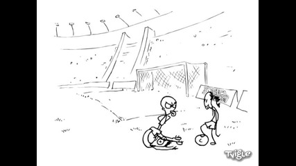 Кристиано Роналдо срещу Роналдиньо + Зидан ( Хрус Team ) Red Medusa
