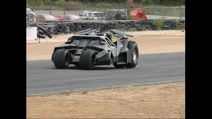 The Dark Knight Rises - Batman Car