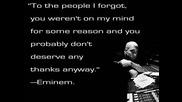 Eminem ft. Kobe - Talkin To Myself