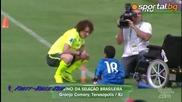 #respect !! Дете с инвалидна количка жонглира на тренировка на Бразилия