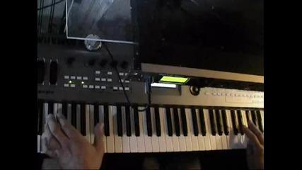 Stereo на синтезатор
