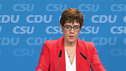 Germany: CDU and CSU launch programme for European parliamentary elections
