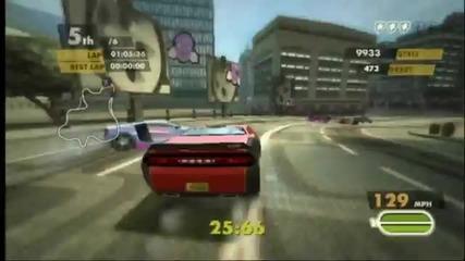 Need for Speed Nitro (wii) Elimination Race