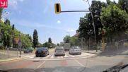 Групово минаване на червен светофар