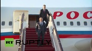 Azerbaijan: Putin arrives for the first European Games in Baku
