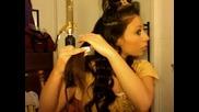 Секси момиче ни показва как да си накъдрим косата като тази на Beyonce