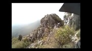 Шест минути адреналин в Лигурските Алпи -