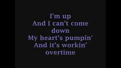 Selena Gomez - Bang a Drum / lyrics on screen.