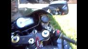 Suzuki gsxr 1000 k1 no exhaust