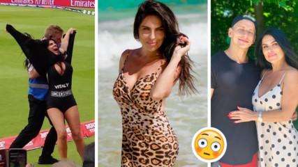 История с продължение: Секси майка се съблече на финала по крикет. Защо?