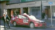 Необикновен таксиджия с Ево побърква клиентите