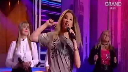 Рада Манойлович - Pola dva - (TV Grand 25.03.2018.)