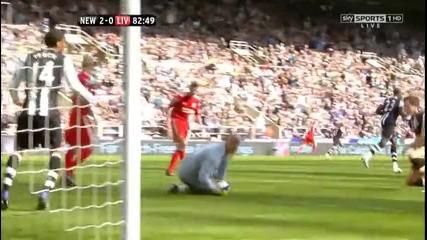 Newcastle 2 - 0 Liverpool