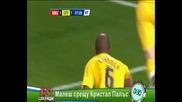 Малеш срещу Кристъл Палас ! 60 секунди 07.12.2011