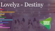 Lovelyz - Destiny Kpop Line Distribution