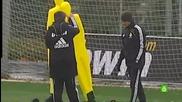 Mesut Ozil - Тренировка