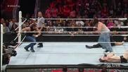 Роуман Рейнс, Дийн Амброуз и Ренди Ортън срещу Брей Уаят, Лук Харпър и Шеймъс- Raw, 03.08.2015
