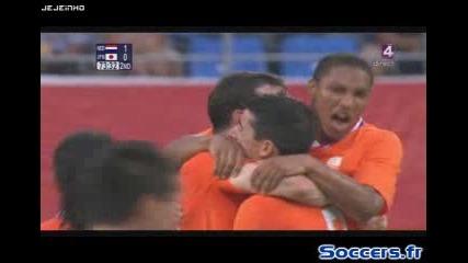 Холандия - Япония 1:0 - Пекин 2008