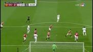 Фантастичeн гол на Бентеке срещу Манчестър Юнайтед!