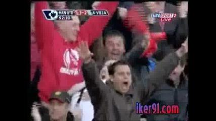 Манчестър Юнайтед - Астън Вила 3:2 Гол Шедьовар На Федерико Македа!!!